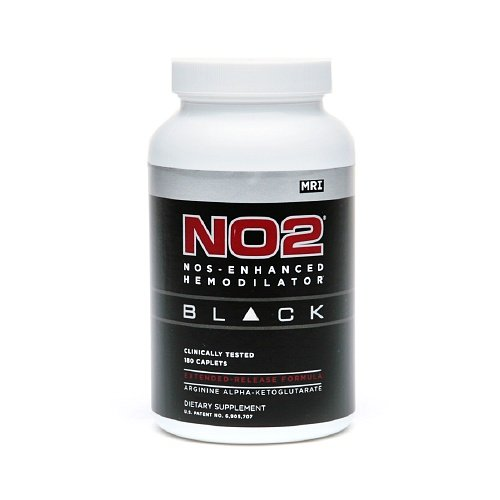MRI No2 Black Nos-enhancing Peptide Caplets 180 - Black No2