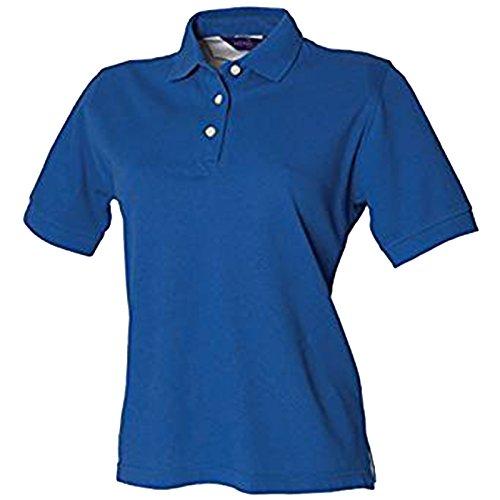 Henbury - Polo - para mujer azul cobalto