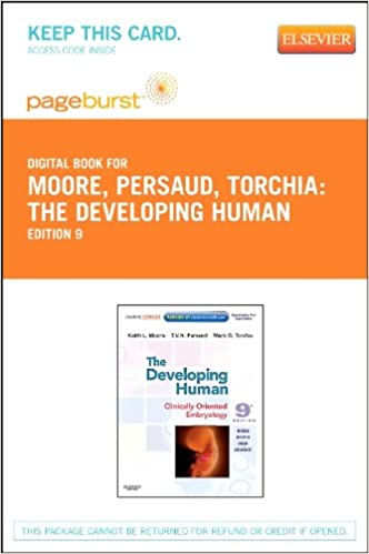 Developing Human Clinically Oriented Embryology Pdf