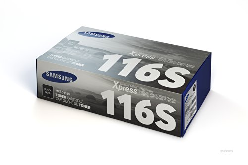 Samsung MLT-D116S Toner Cartridge Black for SL-M2625D, 2626,