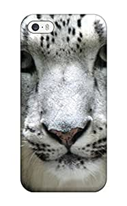Premium Protection Snow Leopard Pictures Case Cover For Iphone 5/5s- Retail Packaging