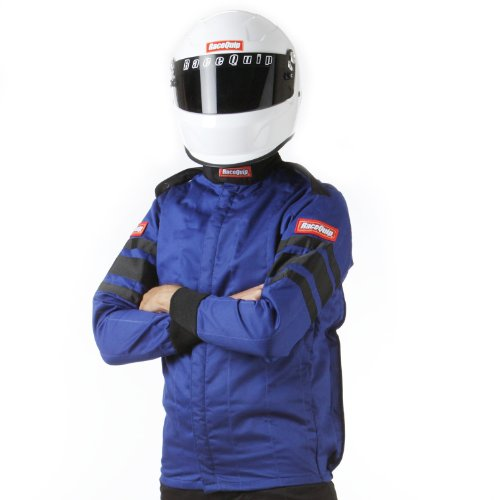 RaceQuip 121026 121 Series X-Large Blue SFI 3.2A/1 Multi-Layer Driving Jacket