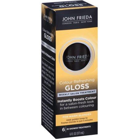 John Frieda Colour Refreshing Gloss for Warm Blondes 6 fl...