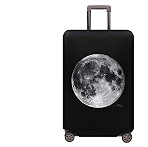 Elastic 28inch L waterproof luggage protective sleeve luggage cover black-S