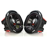 PAIR BOSS AUDIO P126DVC Phantom 12 4600W Car Power Subwoofers