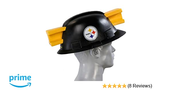 Amazon.com   NFL Pittsburgh Steelers Foamhead   Sports Fan Novelty Headwear    Sports   Outdoors af302cb52