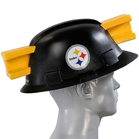 Amazon.com   NFL Pittsburgh Steelers Foamhead   Sports Fan Novelty ... b34580c16