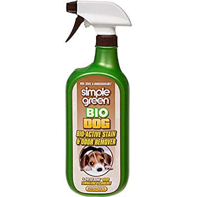 Cat Litter SIMPLE GREEN Stain and Odor Remover [tag]