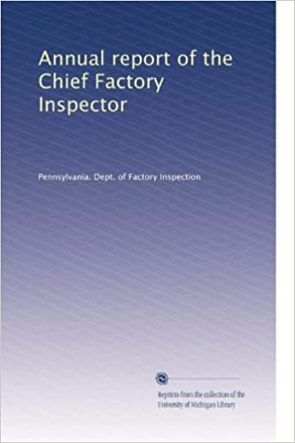 annual report of the chief factory inspector volume 7
