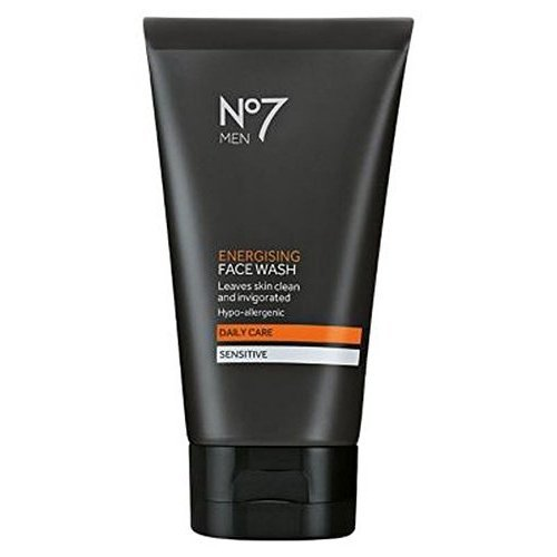 No 7 Men Energising Face Wash Hypo-Allergenic Daily Care Sensitive Skin 5 ()