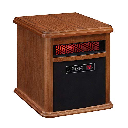 Duraflame 9HM8101-O142 Portable Electric Infrared Quartz Heater, Oak best to buy