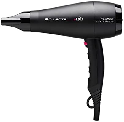 Rowenta CV8352 2100W Negro secador - Secador de pelo (Negro, Anilla para colgar, De plástico, 2100 W)