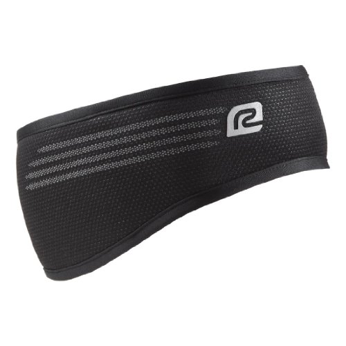 R-Gear Windcutter Headband, Black/Black , L/XL (R Gear Windcutter)