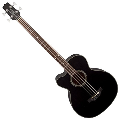 Takamine GB30CELH-BLK G-Series Left Handed Acoustic Electric Bass in Black Finish
