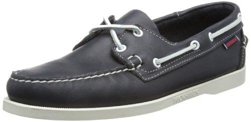 Sebago Docksides, Náuticos Para Hombre Azul (Blue Nite Leather)