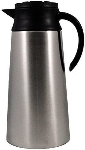 "2.0 Liter (68 Oz) Tall Stainless Steel Thermal Carafe Nsf Approved 11-1/2"" X 5-1/2"" (H X Dia)"