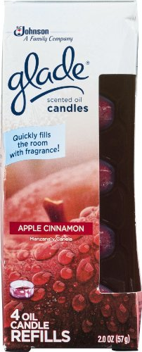 Glade Scented Oil Candle Refill App / C - 9 Pack