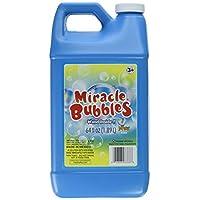 La recarga de la solución Miracle Bubbles de Darice upc 1021-13, colores de botella de 64 onzas puede variar