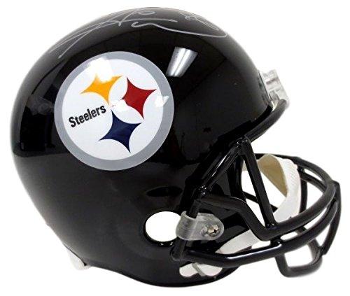 Hines Ward Signed Pittsburgh Steelers Full Size Helmet JSA