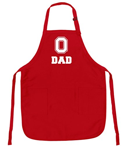 Broad Bay Ohio State Dad Aprons Deluxe OSU Father Apron ()