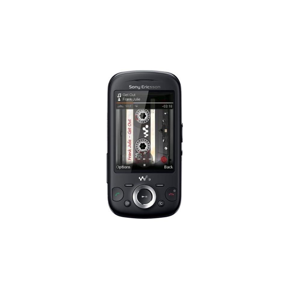 Sony Ericsson W20i Zylo Quadband Unlocked GSM Phone with 3 MP Camera  International Version with No U.S. Warranty (Black)