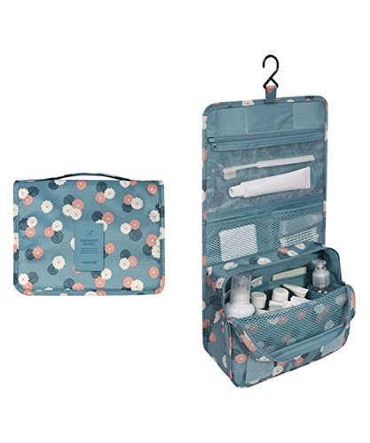 Toiletry Cosmetic Travel Organizer hanging
