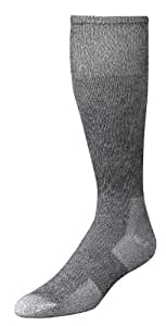 Wells Lamont 9334MN Western Boot Socks, Gray, Shoe Sizes 7 to 9 1/2, 2 Pair Pack