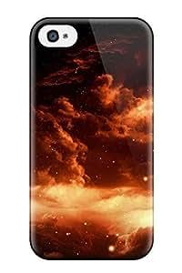 Iphone 4/4s NQkFpbw4750Estxu Art Tpu Silicone Gel Case Cover. Fits Iphone 4/4s WANGJING JINDA