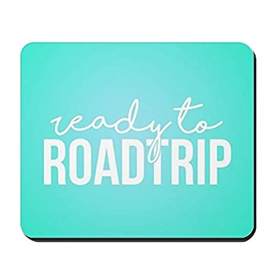 CafePress - Ready To Roadtrip - Non-slip Rubber Mousepad, Gaming Mouse Pad