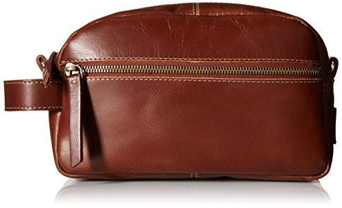 Nevada Leather (Timberland Men's Nevada Leather Travel Kit, Cognac)