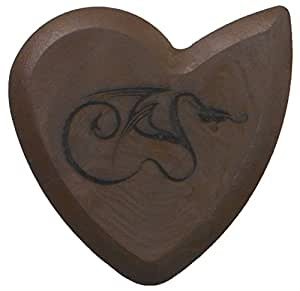 Pure Dragon's Heart Guitar Pick - 1200 hours of durability, 2.5mm thickness, Single Pack