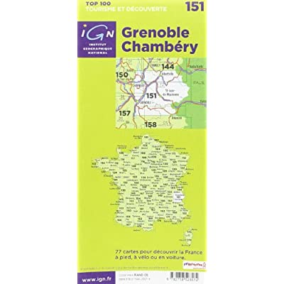 Top100151 Grenoble/Chambery 1/100.000