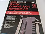 Craftsman Router Dovetail Template Kit