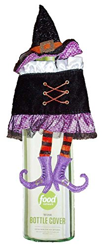 Food Network Witch Wine Bottle Cover Halloween Home