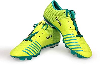 SEGA Womens Yellow Synthetic Football Sports Shoes (Size 10 UK IND ... 1144ef3d6