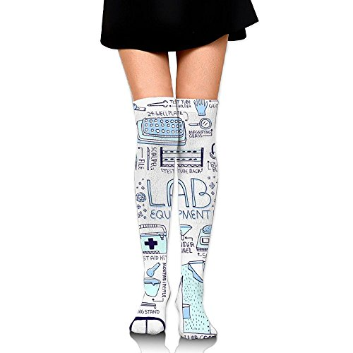 Womens Cute Medical Supplies Knee High Sock Running Over The Knee Socks
