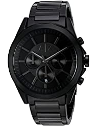 Armani Exchange Mens AX2601 Black IP Watch