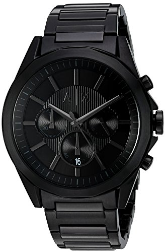 Armani-Exchange-Mens-AX2601-Black-IP-Watch