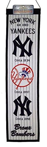 Winning Streak MLB New York Yankees Heritage Banner