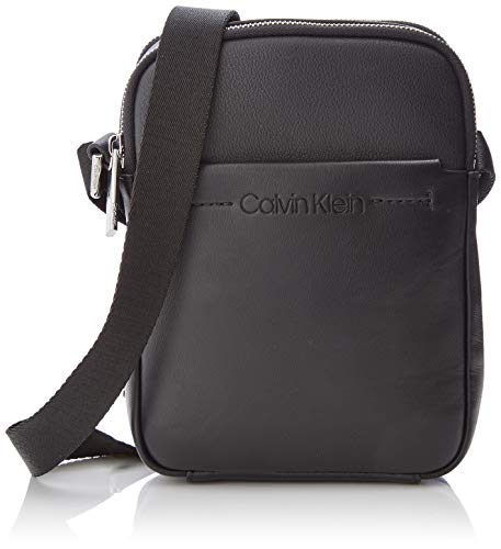 (Calvin Klein Flex 2 Gusset Ipad Mini Reporter, Men's Laptop Bag, Black, 3x25x20 cm (B x H T))