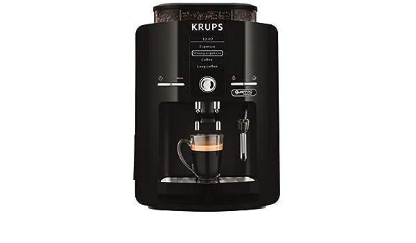 Krups - Espreseria negro con pantalla LCD YY3076FD: Amazon.es: Hogar