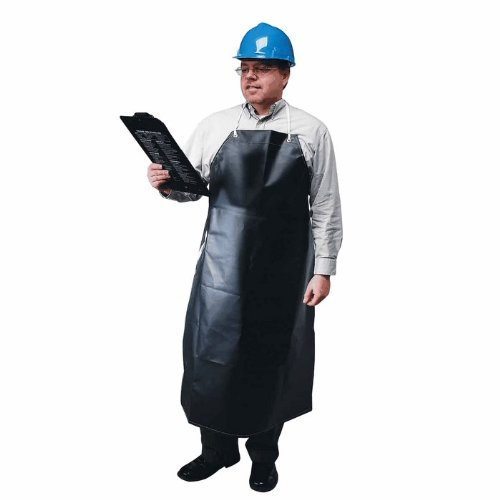 Ansell 56-512-35X45 CPP 18 oz. Hycar Heavy Weight Chemical Protection Apron, 35'' X 45'', - Apron Neoprene
