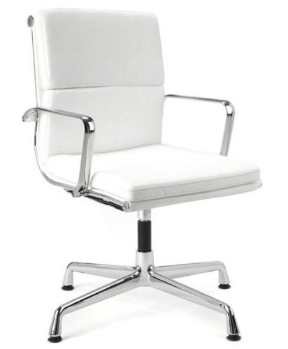 Director Soft Pad Office Chair With No Wheels - White for sale  Delivered anywhere in USA