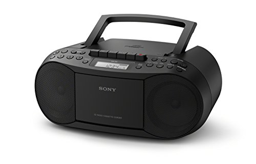Sony CFDS70BLK CD/Cassette Boomb...