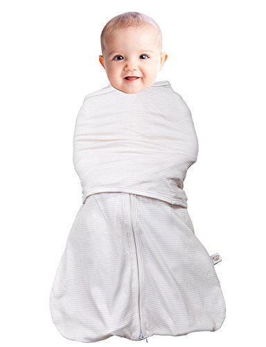 Clevamama 3-in-1 Swaddle Bag (0-3 Months, Cream) by Clevamama   B01MQOTYYX