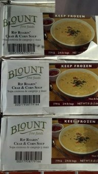 Blount: Rip Roarin' Crab & Corn Soup 2/4 Lb. by Blount