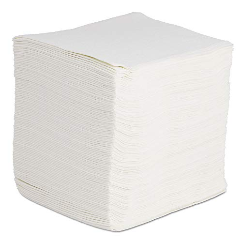 - Boardwalk BWKV030QPW DRC Wipers, White, 12 x 13, 1080/Carton