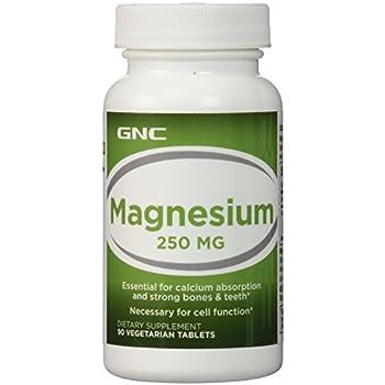Amazon.com: GNC Magnesium 500mg, 120 Capsules, Supports