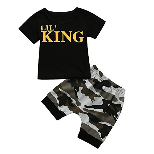 WOCACHI Toddler Baby Boys Clothes, Toddler Kids Baby