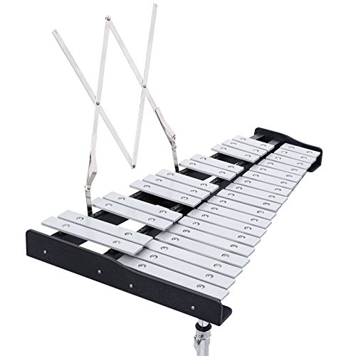 New MTN-G Percussion Glockenspiel Bell Kit 30 Notes w/ Practice Pad +Mallets+Sticks+Stand